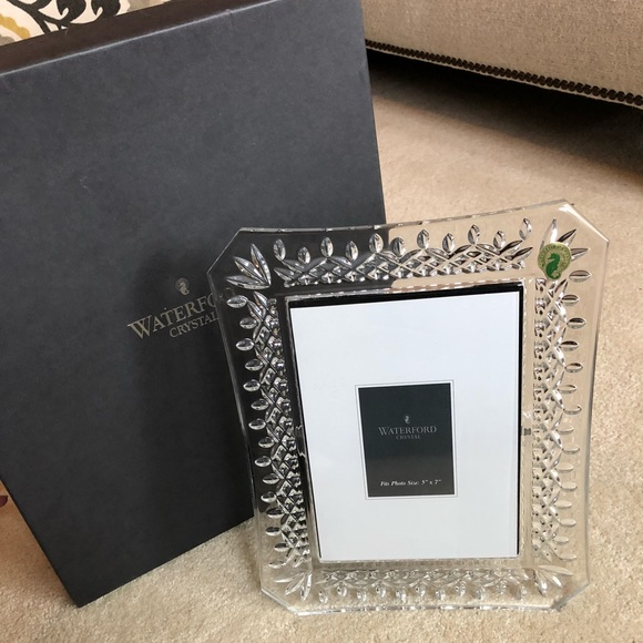 Waterford Other New Crystal 5x7 Picture Frame Poshmark